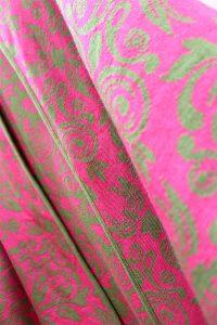 Merinowolle pink grün